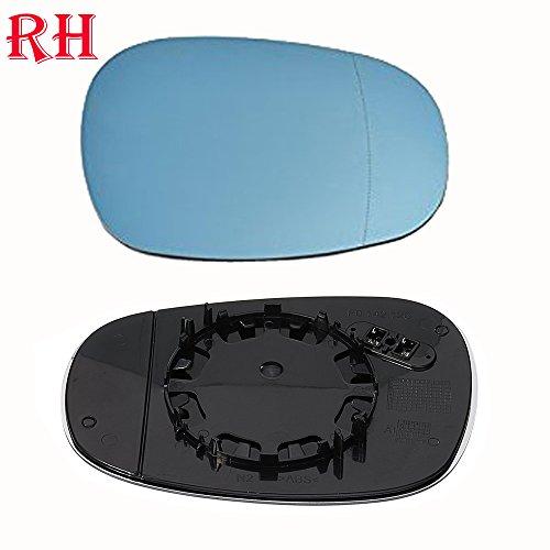 (Ricoy For BMW E81 E88 E90 E91 E92 116i 2009-2012 OEM Door Mirror Glass - Heated (Blue Glass) (Right))