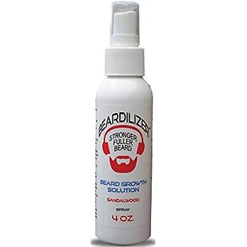 Beardilizer ® Beard Growth Topical Spray - Sandalwood - 4 oz