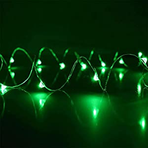 Philips 30 count Battery Operated Dew Drop Christmas Lights on Copper Wire 53