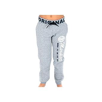 Marshall US-Pantalón de chándal Marshall original, color gris, 6 ...