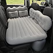 Car Air Mattress Back Seat Truck, Inflatable Bed for Car Back Seat, Camping Vacation Blow Up Bed Sleeping Pad