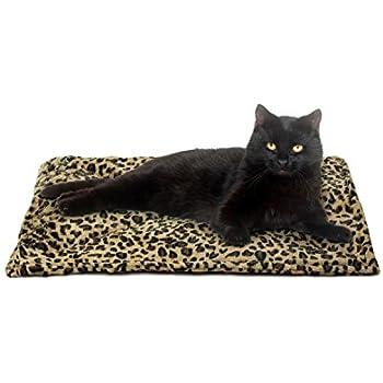Amazon Com Thermal Cat Pet Dog Warming Bed Mat Beige
