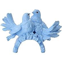 Light blue love birds Wedding Cake Toppers Funny, Mr & Mrs, country wedding cake toppers wedding cake decorations