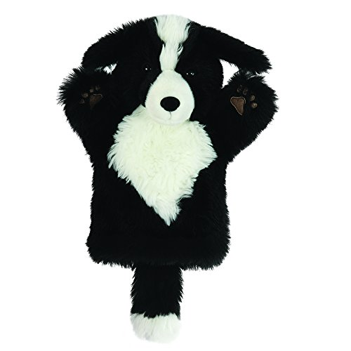 Black Border Collie - The Puppet Company CarPets Border Collie Hand Puppet