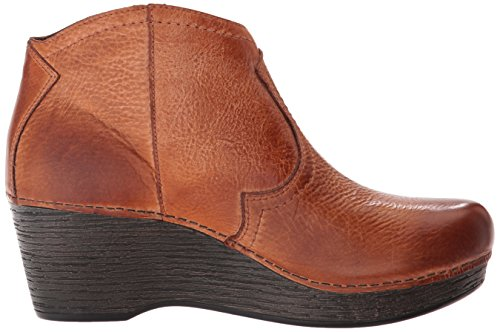 Bootie Honey Distressed Ankle Women's Veronica Dansko SqwfTHx