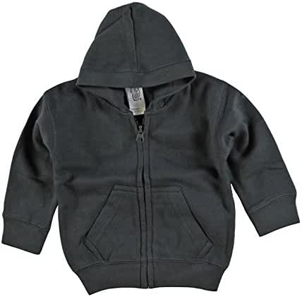 Kiddy Kats Baby Clothes Unisex Hooded Sweatshirt Cotton Full Zipper Infant Hoodie with Kangaroo Muff Pockets