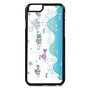 Case Fun Case Fun Swimming with the Fishes Snap-on Hard Back Case Cover for Apple iPhone 6 4.7 inch