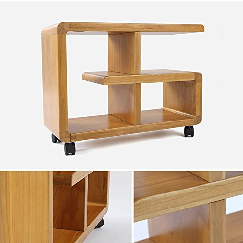 mensole mobili in Legno massello Rack Multifunzione KXBYMX Libreria Piccola Divano