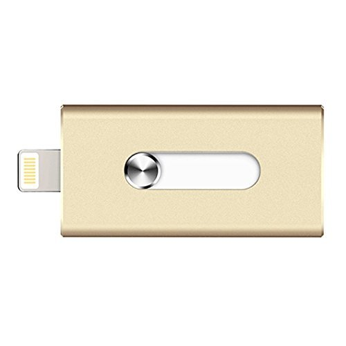 ElementDigital 32G OTG USB Flash Drive, Mobile On-The-Go 32GB USB Flash Drive for iPhone 6/6 Plus /5C/5S/ and iPad mini/mini 2/3, iPad 4, iPad Air/Air 2 etc