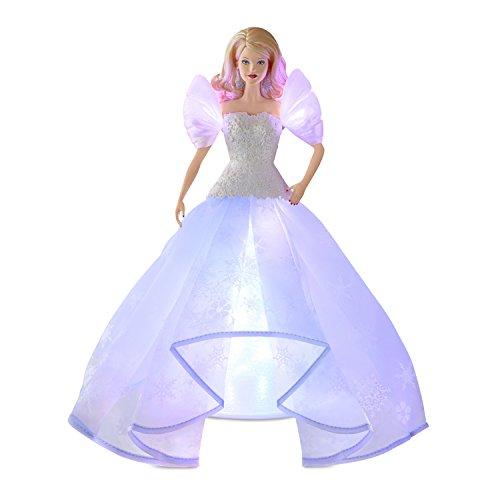 Hallmark Keepsake Tree Topper With Light 2018 Year Dated, Barbie  Angel Lights -
