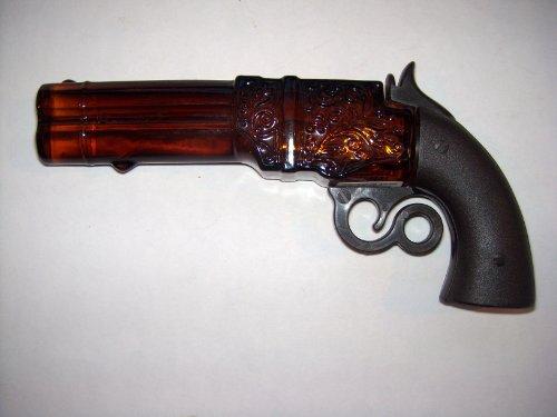 AVON VINTAGE Miniature Volcanic Repeater Decanter, Collectible Bottle , Gun, HTF