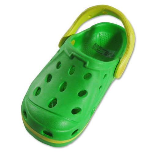 Private Label - Girls Gator Shoe, Lime, Yellow 21344-2MUSLit