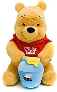 Joy Toy 1000430 Winnie the Pooh - Oso de peluche con bote de miel, 25 cm [importado de Alemania]