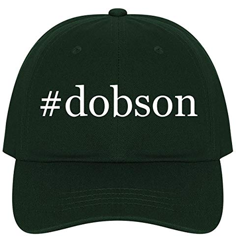 The Town Butler #Dobson - A Nice Comfortable Adjustable Hashtag Dad Hat Cap, Forest, One Size -