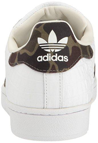Adidas Originals Baskets Mode Superstar Homme Blanc / Noir / Héritage