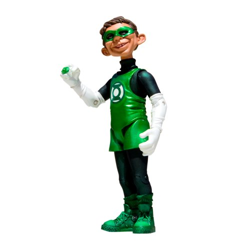 DC Collectibles Just Us League of Stupid Heroes: Series 2: Alfred E. Neuman as Green Lantern Action Figure ()