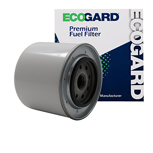ECOGARD XF50298 Diesel Fuel Filter - Premium Replacement Fits Ford F-250, F-350, E-350 Econoline, E-250 Econoline Club Wagon, E-350 Econoline Club Wagon, F-150