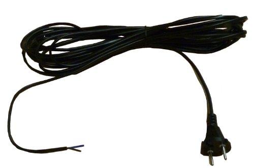 Mister vac A296 Staubsaugeranschlusskabel / Flachkabel 9 m VDE H05 V V H 2 - F 2 x 0.75 für Staubsauger mit Kabelaufwicklung