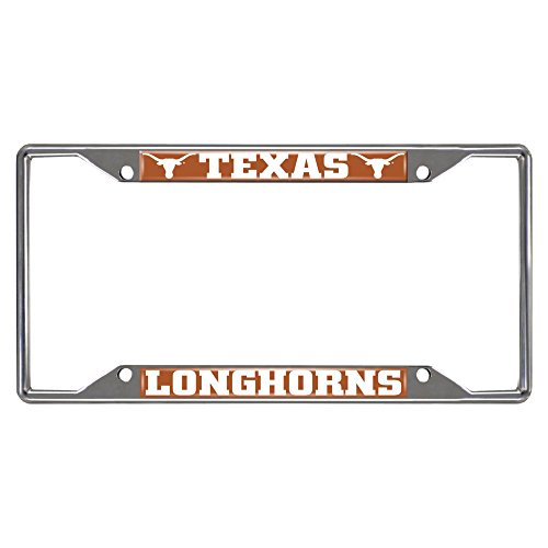 SLS Texas Longhorn Colored Metal License Plate Frame