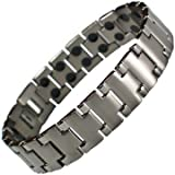 Pure Titanium Magnetic Therapy Bracelet - Pain Relief from Earth Therapy