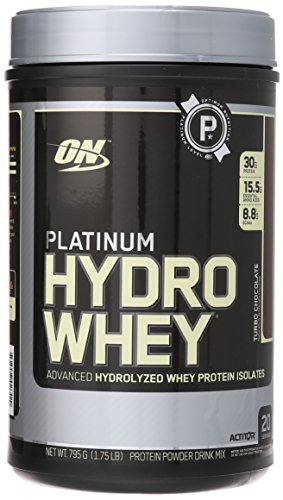 Optimum Nutrition Platinum Hydrowhey, Turbo Chocolate, 1.75