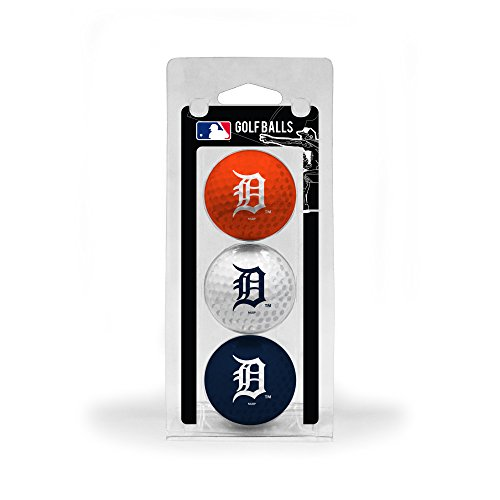 - Team Golf MLB Detroit Tigers Regulation Size Golf Balls, 3 Pack, Full Color Durable Team Imprint
