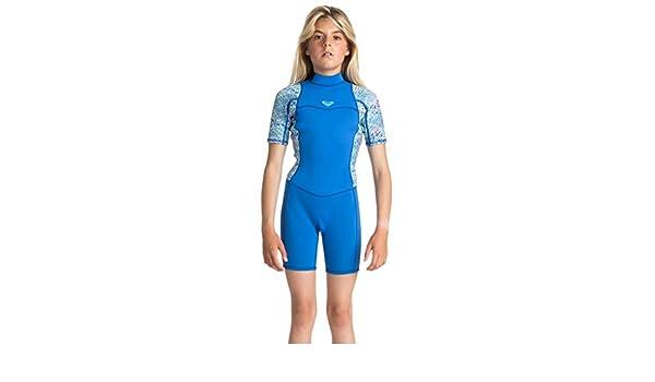 Amazon.com  Roxy Girls Roxy Syncro 2 2 Spring Back Zip Flatlock - Wetsuit -  Girls - 2G Graphite Gray Purple Blue 2G  Sports   Outdoors 29431f324
