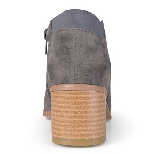 Collezione Day Donna Falso Stivaletto Alla Caviglia In Pelle Scamosciata Grigio