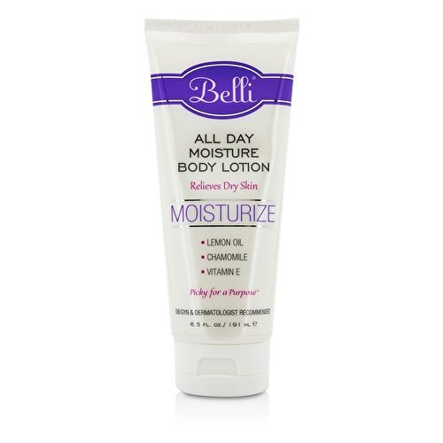 Belli All Day Moisture Body Lotion – Relieves Dry Skin – OB/GYN and Dermatologist Recommended – 6.5 oz