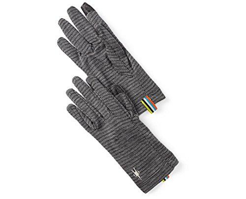 SmartWool Merino 250 Pattern Glove (Black) Medium (Smartwool Glove Liner)