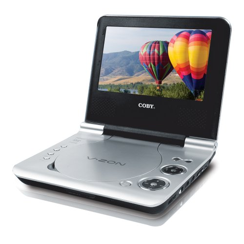 Coby Home Headphones - Coby Electronics TF-DVD7107 7-Inch Portable DVD Player