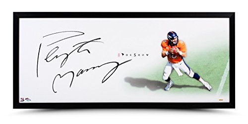 Peyton Manning Signed Autographed 46X20 Framed Photo