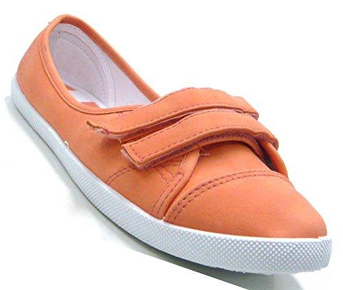 Schuh-City Damen Slipper Sportliche Ballerina Sommer Freizeit Sneaker  Damenschuhe Coral a6700039a0