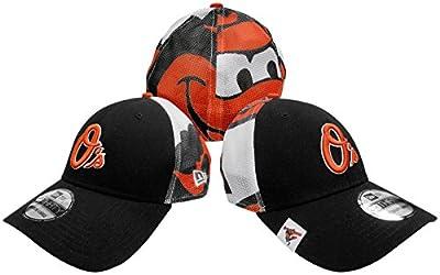 Baltimore Orioles Logo Wrapped Flex Fit Hat / Cap