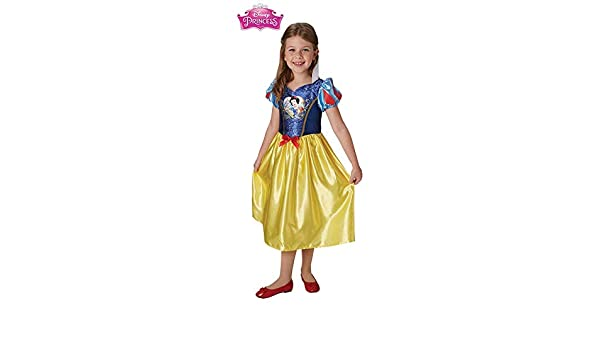 DISBACANAL Disfraz de Blancanieves Classic para niña - -, 5-6 años ...