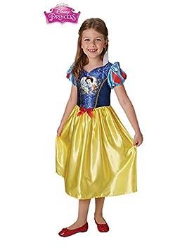 DISBACANAL Disfraz de Blancanieves Classic para niña - Único ...