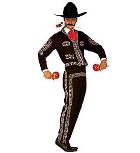 Widman - Disfraz de mariachi mexicano para hombre, talla S (44111)
