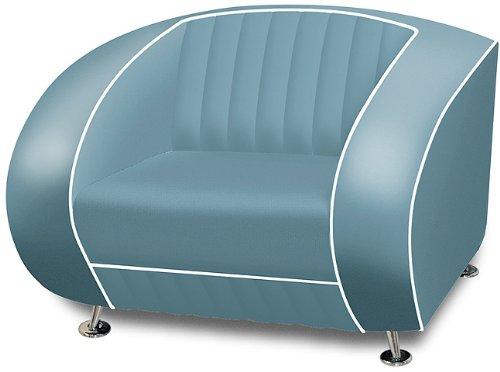 Amerikanischer Sessel retro style Möbel usa 50er Sofa Designer ...