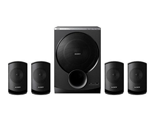 Sony SA-D100 4.1 Multimedia Speakers with Bluetooth (Black)