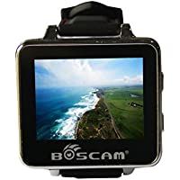 BOSCAM BOS200RC FPV Watch 200RC 5.8GHz 32CH HD 960*240 2 TFT Monitor Wireless Receiver for DIY RC Camera Helicopter Quadcopter Drone