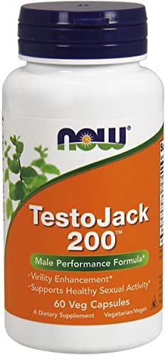 NOW® TestoJack 200™, 60 Veg Caps