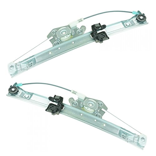 Rear Power Window Regulators Left & Right Pair Set for BMW E90 3 Series 4 Door