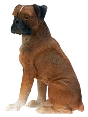Figurine Collectible Dog (Boxer Dog - Collectible Statue Figurine Figure Sculpture Puppy Rare)
