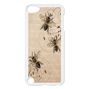 Best Phone case At MengHaiXin Store Honey Bee Art Design Pattern 152 FOR Ipod Touch 5