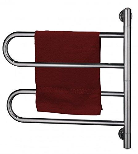 Team-Kalorik-Group EXC TW 3 Estufa Calentador de toallas Toallero, apto para montaje en la pared, Acero inoxidable: Amazon.es: Hogar