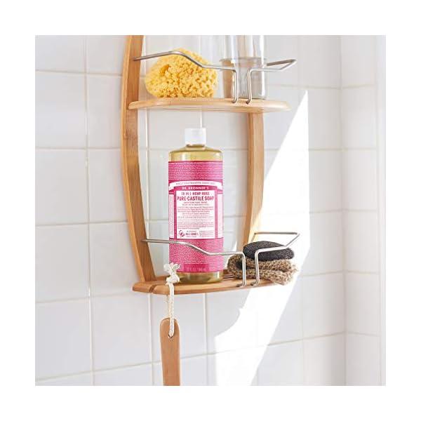 Dr Bronner's 946 ml Organic Rose Castile Liquid Soap