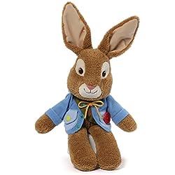 "GUND for Nickelodeon Peter Rabbit Teach Me Stuffed Animal Plush, 9"""