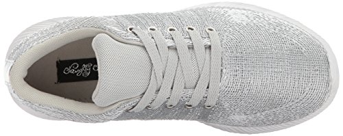 Women's Sneaker Fashion Naughty Amber Monkey Silver w6xx8