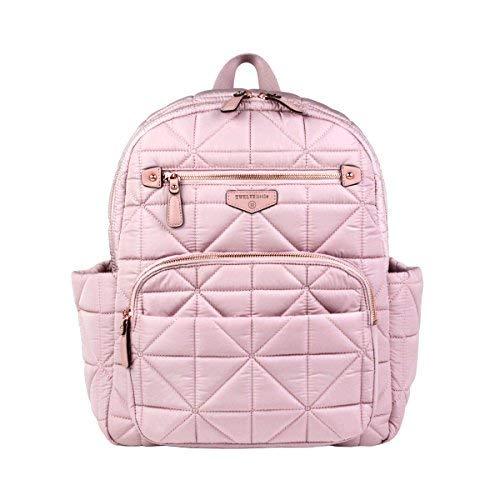 TWELVElittle Companion Diaper Bag Backpack (Blush Pink) ()