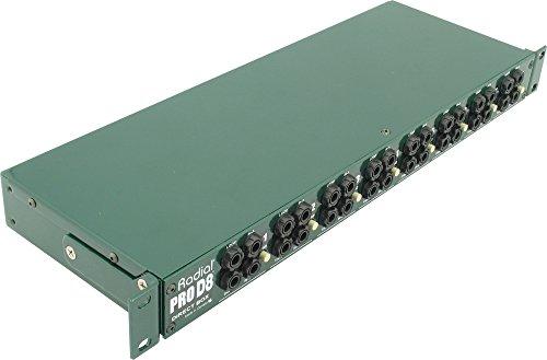 8 Ch Di Box (Radial ProD8 8-channel Passive Instrument Direct Box)